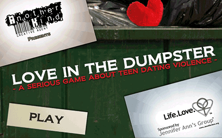 love_in_the_dumpster_-_title_screen